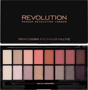 Makeup Revolution, zestaw cieni do powiek, Salvation Palette, 16 kolorów