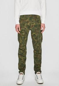 Zielone spodnie G-Star Raw z bawełny