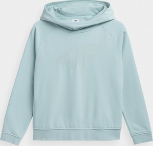 Niebieska bluza dziecięca 4F