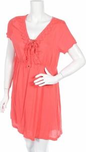 Sukienka Xaro rozkloszowana z dekoltem w kształcie litery v mini