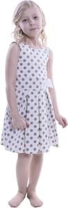 Sukienka dziewczęca Fokus z bawełny
