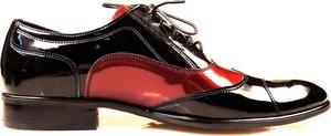 Półbuty obuwie męskie faber