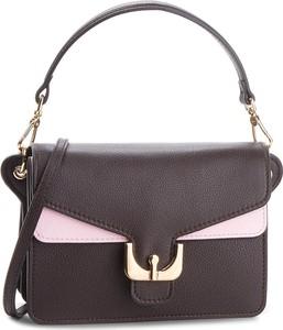 Brązowa torebka Coccinelle w stylu casual średnia do ręki