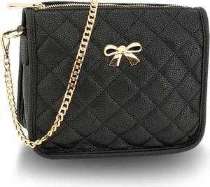 bf34f8c213ef5 torebka pikowana czarna. - stylowo i modnie z Allani