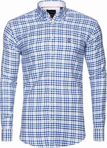 Niebieska koszula Di Selentino
