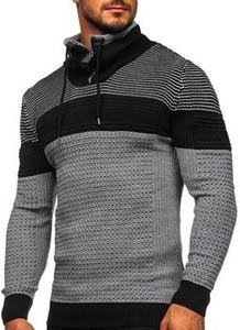 Czarny sweter Denley