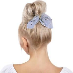 Miss Glow GUMKA do włosów APASZKA frotka SCRUNCHIES błękitna