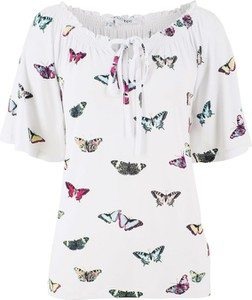 Bonprix bpc bonprix collection tunika shirtowa, krótki rękaw