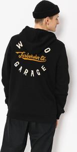 Czarna bluza Turbokolor w młodzieżowym stylu z bawełny