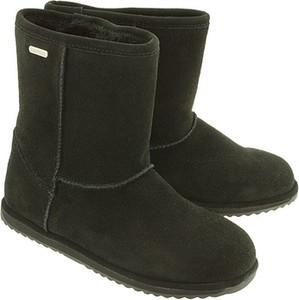 Czarne buty dziecięce zimowe Emu Australia