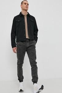 Czarna kurtka Solid krótka