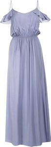 Niebieska sukienka Multu