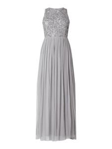 Sukienka Lace & Beads bez rękawów maxi