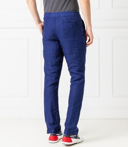 Spodnie Z Zegna w stylu casual z lnu