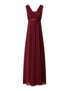Czerwona sukienka Jake*s Cocktail z dekoltem w kształcie litery v maxi