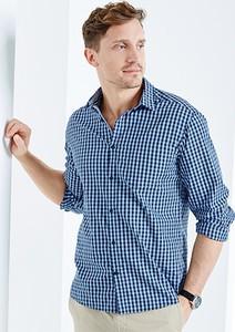 Niebieska koszula Tchibo w stylu casual