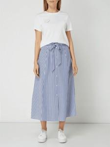 6d7425d06b długa spódnica w paski - stylowo i modnie z Allani