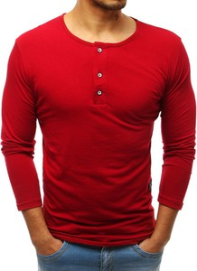Koszulka z długim rękawem Dstreet w stylu casual z bawełny