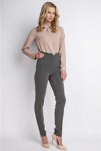 5d6b9466ec4a03 eleganckie spodnie z wysokim stanem - stylowo i modnie z Allani