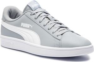 Sneakersy PUMA - Smash V2 L 365215 10 Quarry/Puma White