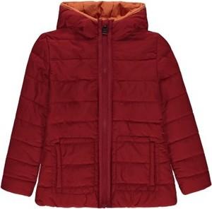 Czerwona kurtka dziecięca Marc O'Polo z tkaniny dla dziewczynek