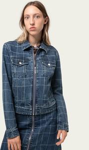 Kurtka Hugo Boss w stylu casual krótka z jeansu