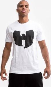 T-shirt Wu Wear z nadrukiem z krótkim rękawem