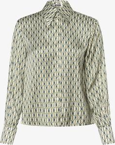 Zielona koszula Drykorn z długim rękawem