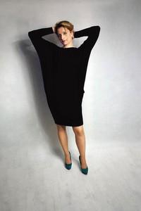 8f1f36b816 Czarne sukienki luźne