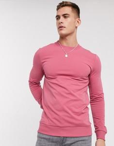 Różowa bluza Asos z dresówki