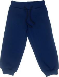Granatowe spodnie dziecięce Fluffy dla chłopców