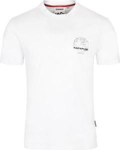 T-shirt Napapijri z bawełny
