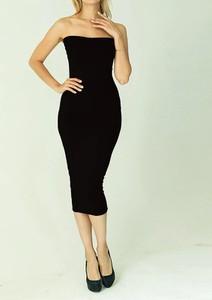 Czarna sukienka Arilook bez rękawów