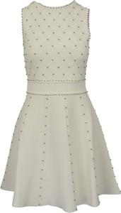 Sukienka Elisabetta Franchi mini bez rękawów rozkloszowana