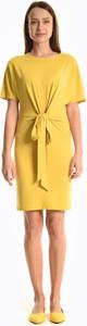 Sukienka Gate z krótkim rękawem mini prosta