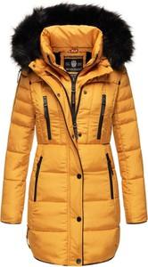 Żółta kurtka Marikoo w stylu casual