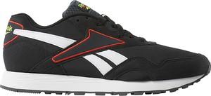 Czarne buty sportowe Reebok z zamszu