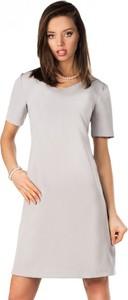 Sukienka MERRIBEL mini z krótkim rękawem z okrągłym dekoltem