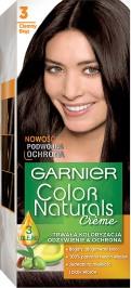 Garnier, Color Naturals, farba do włosów, 3 ciemny brąz