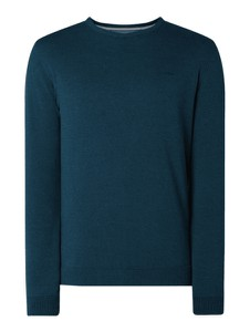 Niebieski sweter S.Oliver Red Label z bawełny