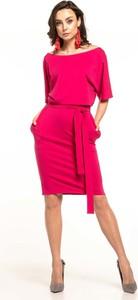 Sukienka Tessita z krótkim rękawem z bawełny