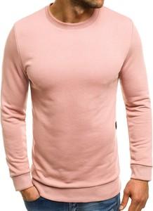 Różowa bluza Ozonee z bawełny