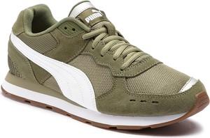 Buty sportowe Puma sznurowane ze skóry w sportowym stylu