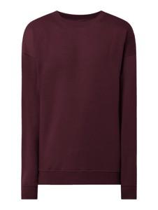 Czerwona bluza Urban Classics z bawełny
