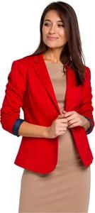 Czerwona marynarka Style z bawełny