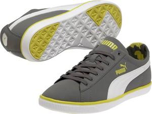 Buty Glyde Lite Lo Nubuck Puma (grey/yellow)
