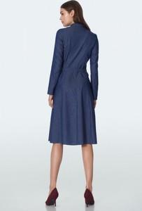 Niebieska sukienka Nife z jeansu