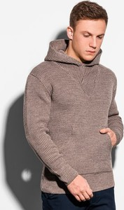 Brązowy sweter Ombre