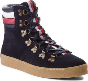 7d432d20b828e tommy hilfiger buty kozaki damskie - stylowo i modnie z Allani