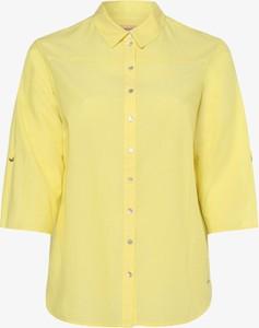 Żółta bluzka Triangle z długim rękawem